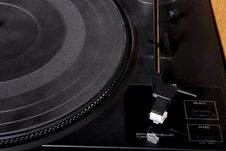 Free Old Turntable Royalty Free Stock Photos - 7743078