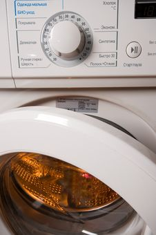 Free Automatic Washing Machine. Stock Images - 7743244