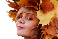 Free Autumn Girl Royalty Free Stock Photo - 7743375