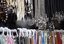Free Cheap Jewelry At Marketplace Stock Photo - 7743440
