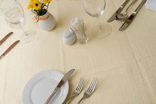 Free Table Dishware Stock Photos - 7743653