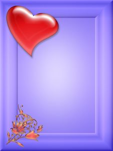 Free Love Valentine Frame (02) Stock Photo - 7743860