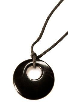 Free Onyx Necklace Stock Photography - 7744052