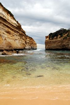 Great Ocean Road - Loch Ard Gorge Royalty Free Stock Photography