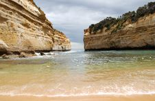 Great Ocean Road - Loch Ard Gorge Stock Images