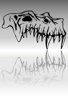 Free Skull Of Demon Stock Photo - 7744850