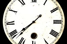 Free Vintage Clock Face Stock Photos - 7744913