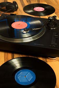 Free Vinyl Record Royalty Free Stock Photos - 7745168