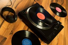 Free Vinyl Record Stock Images - 7745174