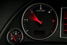 Free Diesel Engine Tachometer Royalty Free Stock Image - 7745226