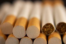 Free Detail Cigar Tobacco Royalty Free Stock Photos - 7745398