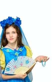 Free Teen Girl In Elegant Dress Stock Photos - 7745853