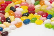 Free Jellybeans Royalty Free Stock Photography - 7746087