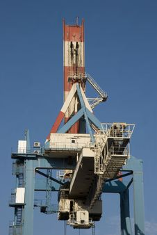 Free Huge Crane Stock Image - 7746121
