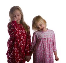 Free Sleepy Sisters Stock Image - 7746301
