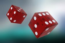 Two Dices Stock Image