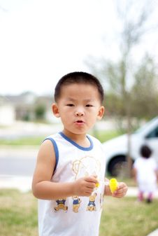 Free A Chinese Boy Royalty Free Stock Photo - 7746695