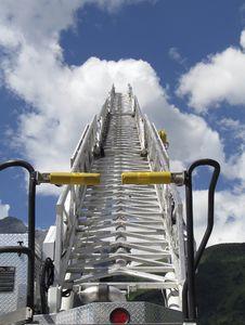 Free Firetruck Ladder Stock Photo - 7747040