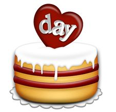 Free Valentines Day Cake Royalty Free Stock Photo - 7747095