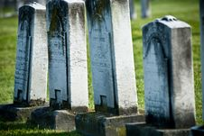 Free Carved Gravestones Stock Photography - 7747452