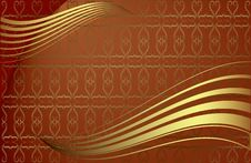 Free Pattern Flourishes. Royalty Free Stock Photos - 7747518
