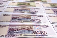 Denominations Advantage Of 500 Roubles Stock Photos