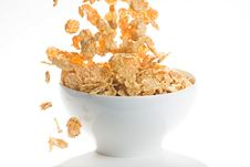 Free Bowl Of Cereal With Raisins Stock Images - 7747904