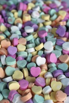 Free Valentine S Day Candies Royalty Free Stock Image - 7747936