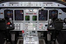 Free Aircraft Flightdeck Stock Image - 7748001