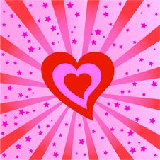 Free Valentine S Day Heart Background Stock Images - 7748074