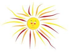 Free Hand Draw Summer Sun Stock Photography - 7748162