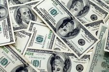 Free Hundred Dollars Background Royalty Free Stock Images - 7748209