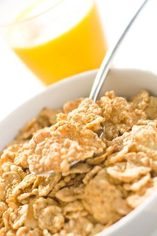 Free Bowl Of Cereal With Raisins Stock Image - 7748311