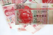 Hong Kong Dollars Royalty Free Stock Image