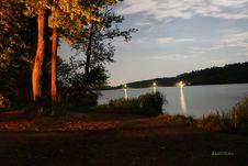 Free Lake In Night Stock Images - 7748814