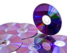 Free Computer Cd Background Stock Photo - 7749110