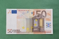 Free Fifty Euro Royalty Free Stock Image - 7749166