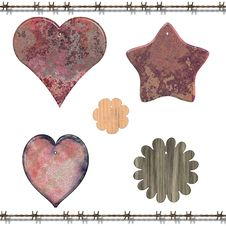 Free Country Wallhanging Elements Stock Photos - 7749213