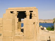 Free Hathor Temple Royalty Free Stock Photos - 7749358