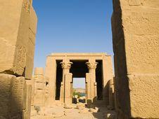 Free Hathor Temple Stock Photo - 7749360