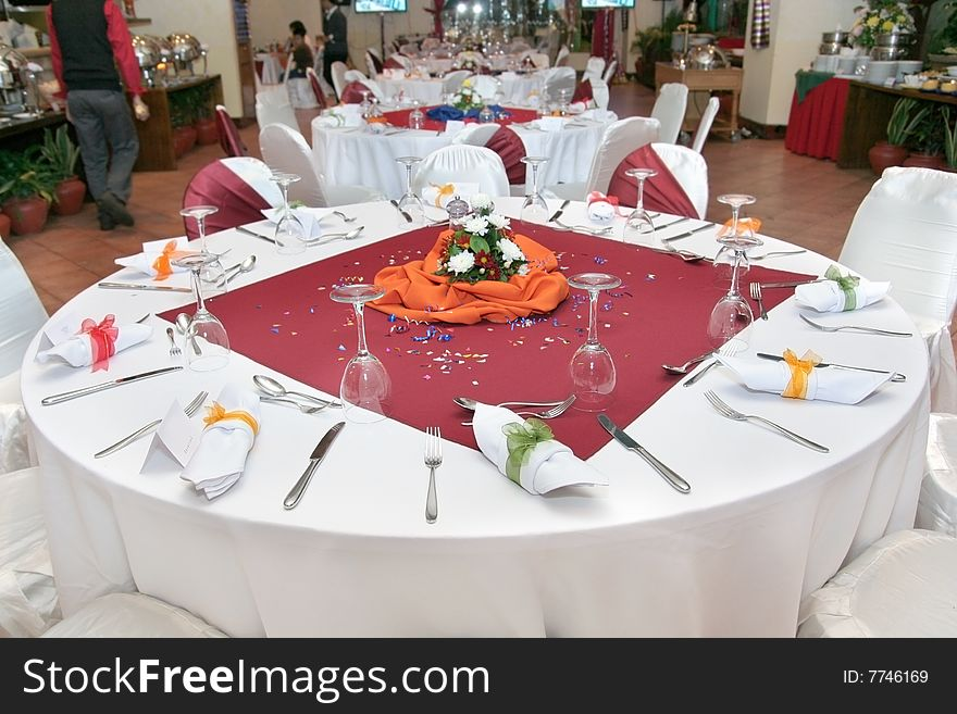 Restaurant table setup & Restaurant Table Setup - Free Stock Images \u0026 Photos - 7746169 ...