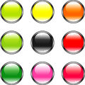 Free Color Buttons Stock Photography - 7750742