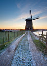 Free Windmill Winter Landscape Stock Images - 7753144