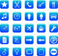 Free Web Icons Set Royalty Free Stock Photography - 7756967