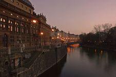 Free Prague S Lights Royalty Free Stock Photos - 7750858