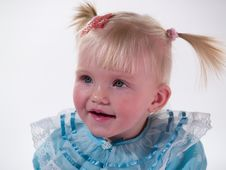 Child Smiles Royalty Free Stock Image