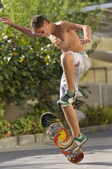Free Skater Royalty Free Stock Photos - 7750978
