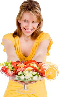 Free You Want A Piece Of Salad Stock Photos - 7751063