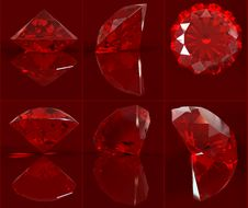 Free Ruby Set Stock Photos - 7751253