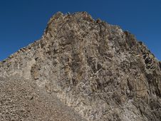 Tien-Shan Mountains Royalty Free Stock Photography